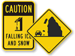 Falling Snow Signs