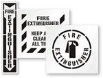 Fire Extinguisher Stencils