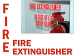 Fire Extinguisher Decals