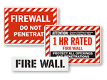 Firewall Signs