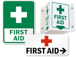 More First Aid Signs