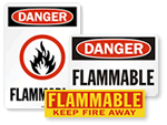 Flammable Signs