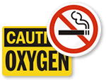 Oxygen No Smoking