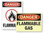 OSHA Flammable Signs