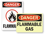 OSHA Flammable Signs
