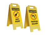 Floor Safety Signs, Stencils, Cone Signs & Cable Protectors