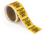 Food Preparation Labels