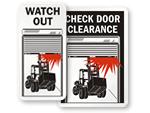 Dock Door Signs