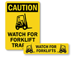 Watch for Forklifts