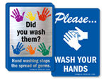 Hand Washing Signs