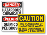 Hazardous Chemical Storage