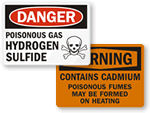 Hazardous Fumes Warnings