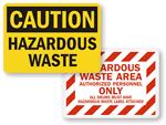 HazWaste Signs