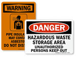 Health Hazard Signs
