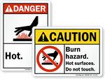 ANSI Hot Signs