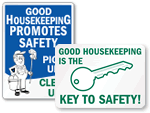 Housekeeping Signs