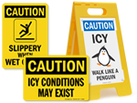 Icy Warning Signs