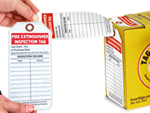 Fire Extinguisher Inspection Record Tags   Fire Extinguisher Inspection Tags