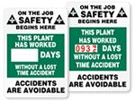 Job Safety Scoreboards