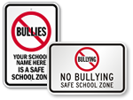 Safe School Zone Signs