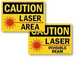 Laser in Use