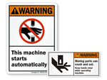 ANSI Machine Signs
