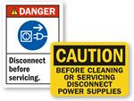 Machine Service Labels