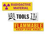 Magnetic Cabinet Labels