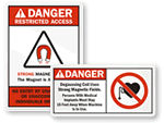 Magnetic Safety Signs