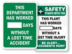 Mark-a-Day™ Safety Scoreboards