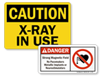 Medical Equipment Signs