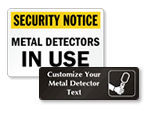 Metal Detector Instructions