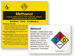 Methanol Warning Labels