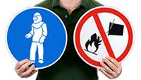 Military Hazard Symbols