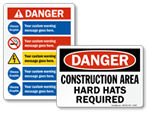 More Construction Signs