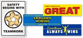 Motivational Teamwork Banners