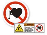 MRI Warning Labels & Signs