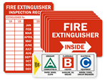 NFPA 10 Signs