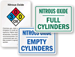 Nitrious Oxide Signs