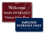 Office Entrance Signs