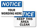OSHA Notice Signs