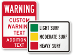 Outdoor Safety Signs