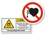 MRI Warning Sign & Label