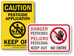 Pesticides in Use, Keep Off Signs