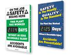 Plant Safety Scoreboards