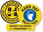 PPE Floor Stencils