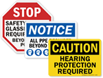 PPE Signs - Personal Protective Equipment Signs