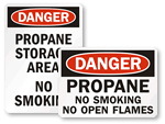 Propane Signs