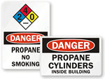 Propane Warning Signs
