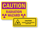 Radiation Warning Labels